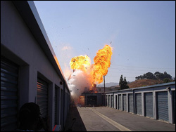 Entertainment Industry Special FX Explosion